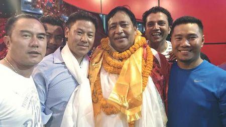 नेपाल पर्वतारोहण संघमा सन्तवीर लामा