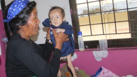 चेपाङ बस्तिका बालबालिका कुपोषणको सिकार