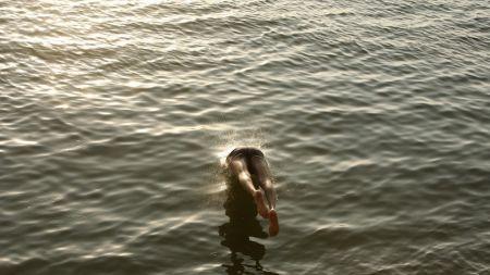 कालीगण्डकी नदीमा पौडी खेल्ने क्रममा दुई बालक बेपत्ता