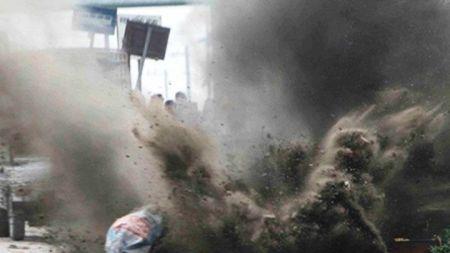 धनगढीकाे चर्चमा बम विस्फोटन