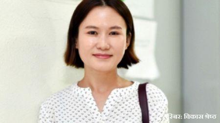 नेपाली मूलकी सम्झना राई कोरियन प्रहरी अधिकृत बनिन्