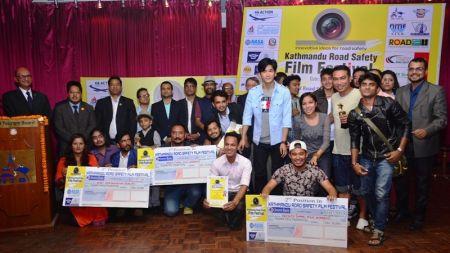 रोड सेफ्टी फिल्म फेस्टिभलमा 'दृष्टि' उत्कृष्ट