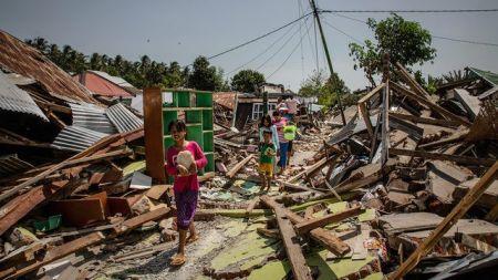 शक्तिशाली भूकम्पबाट करिब ५०० को मृत्यु