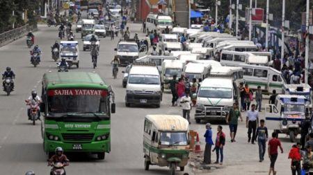 काठमाडौंका गाडीमा तीन दिन लगातार जोर विजोर प्रणाली