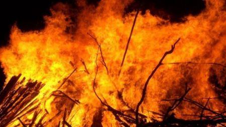 आगलागीमा परेर दाङमा तीन बालबालिकाको मृत्यु