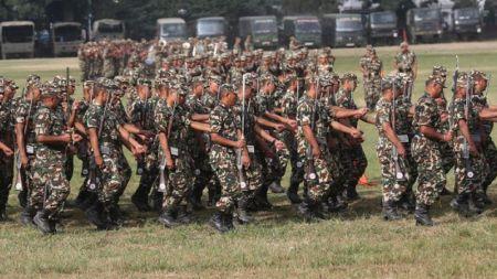 सिपाही भर्नामा अनियमितताः तीन मेजरसहित ११२ सैनिक बर्खास्त