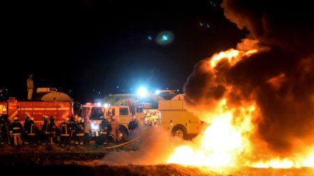तेल चोरी गर्दा मेक्सिकोमा पाइपलाइन विस्फोट, मृत्यु हुनेको संख्या ६६ पुग्यो