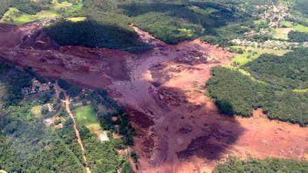 ब्राजिलको बाँध भत्केर मृत्यु हुनेको संख्या ३४ पुग्यो, ३०० बढी बेपत्ता