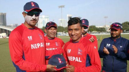 डेब्यू खेलमै छक्का र चौका हान्ने नेपाली क्रिकेटका अर्का  'सन्दीप'