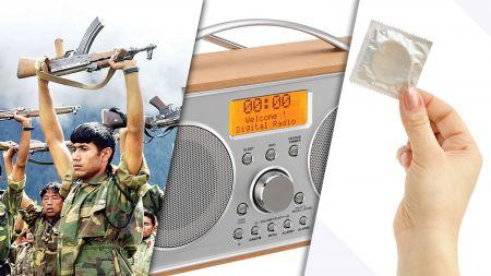 आज जनयुद्ध, रेडियो र कन्डम दिवस मनाईदै
