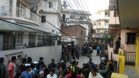 काठमाडौंमा सिलिण्डर विष्फोट, तीनको मृत्यु