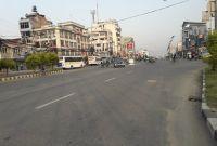 विप्लवको नेपाल बन्दः सोमबार बिहान ६ बजे काठमाडौंका सडक यस्ता देखिए (फोटोफिचर)