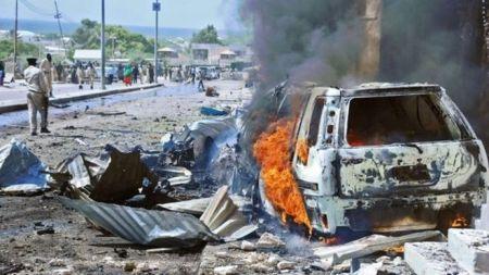 सोमालियमा कार बम विष्फोट, ११ जना मारिए, २५ घाइते
