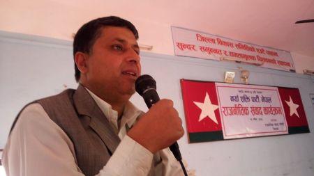 नयाँ शक्ति पार्टी होइन अभियान होः नेता भट्टराई