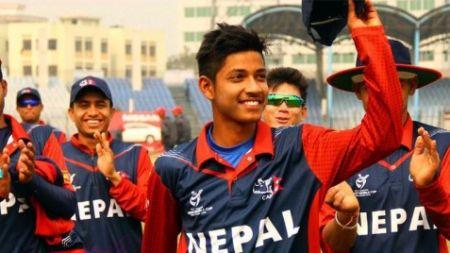 युवा क्रिकेटर सन्दीप एपीएफ क्लबमा अनुबन्धित