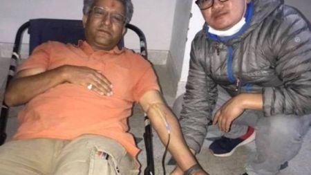उमेर ४१ वर्ष, रक्तदान ५० अाैं पटक