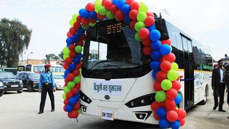 बिजुली बसमै घोटाला : चिनियाँ भनिएका बिजुली बस भारतका