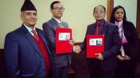 सन नेपाल लाइफ इन्स्योरेन्स र सिभिल बैंकबीच बैंकासुरेन्स सम्झौता
