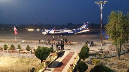 भद्रपुरमा आजदेखि रात्रि उडान, प्रधानमन्त्रीले उद्घाटन गर्दै