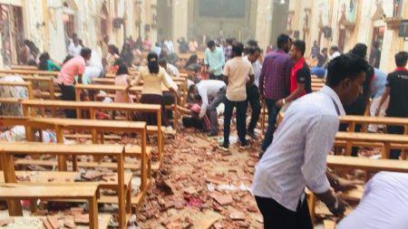 श्रीलंकामा ३ चर्चसहित ६ ठाउँमा बम विष्फोट, २५ को मृत्यु २०० बढी घाइते [अपडेट]