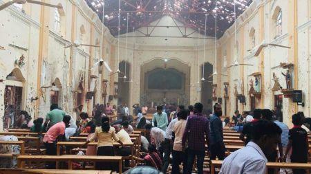 श्रीलंका बम विष्फोट अपडेट : मृत्यु हुनेको संख्या १२२ पुग्यो, २४७ बढी घाइते