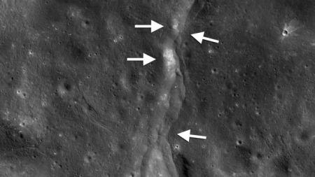 चन्द्रमामा ५ रिक्टर स्केलसम्मको चकम्प (भिडियो)