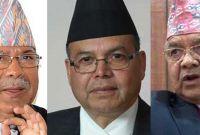 टुंगियो पूर्वएमालेका तीन वरिष्ठ नेताको जिम्मेवारी