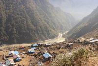 किमाथांकामा चीनको बाँध, खतरामा नेपाली बस्ती