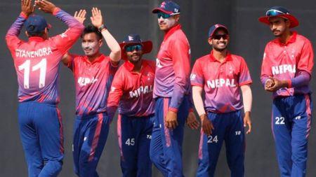 एसीसी इमर्जिङ एसिया कप क्रिकेटमा नेपालकाे पहिलो जित :शरद भेषवाकर बने नायक