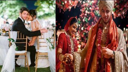 निक र प्रियंकाको विवाहको १ बर्ष पुरा, एकअर्कालाई यसरी दिए बधाई