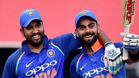 टी–२० क्रिकेटमा कोहली र शर्माले बनाए समान २६३३ रन!