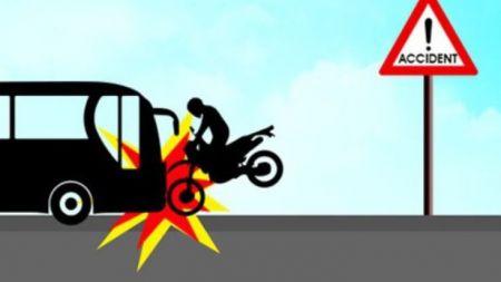 मोटरसाइकल दुर्घटनामा शिक्षकको मृत्यु