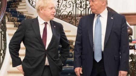 ब्रिटिश प्रधानमन्त्रीद्वारा अमेरिकी राष्ट्रपतिको समर्थन गर्ने