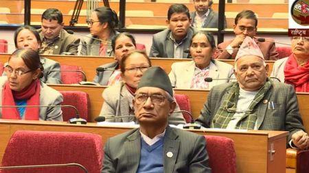 राष्ट्रियसभा बैठक : शून्य समयमा सरकारको ध्यानाकर्षण