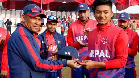 अमेरिकाविरुद्ध नेपाललाई ब्याटिङको निम्तो, कुशल मल्लको डेब्यू