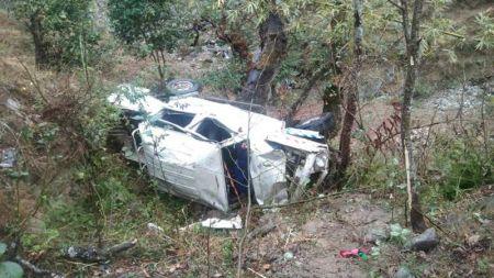 गोरखामा जिप दुर्घटनाः ११ घाइते, ४ जनाको अवस्था गम्भीर