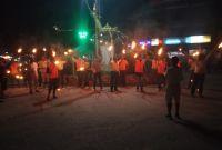 शिवसेना नेपालद्वारा कपिलवस्तुमा राँके जुलुस प्रदर्शन