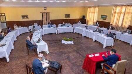 नेकपा सचिवालय बैठक बस्दै