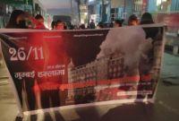निर्दोष हत्या बन्द गर्न माग गर्दै पाकिस्तानी दूतावास अगाडी जुलुस