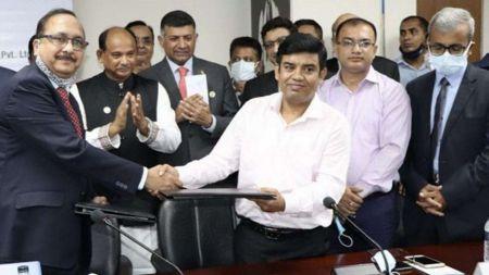 भारतले बंगलादेशमा रेलवे लिंकको विकास गर्ने, बंगलादेशमा खुसीयाली